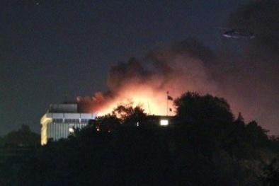 Xả súng, phóng hỏa kinh hoàng tại khách sạn Intercontinental nhiều người thiệt mạng