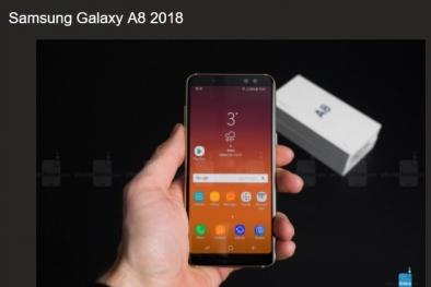 Đập hộp Galaxy A8 2018 và đây là cảm nhận đầu tiên