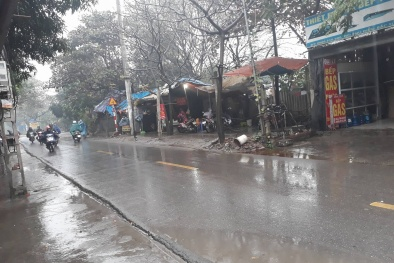 Dự báo thời tiết ngày 24/1: Cả nước có mưa, Bắc Bộ trời rét