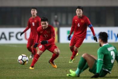 'Giật mình' trước chế độ ăn tập khắt khe của tuyển U23 Việt Nam