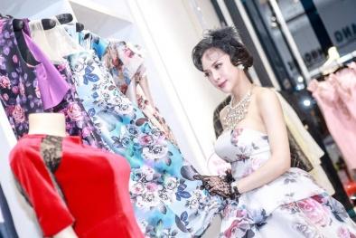 Á hậu Ngọc Quỳnh kiêu kỳ, quyến rũ với style cổ điển