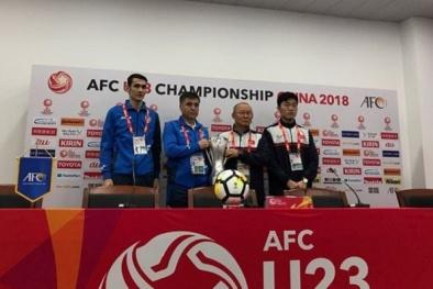 """HLV Park Hang-seo điểm mặt 4 cầu thủ """"đáng sợ"""" của U23 Uzbekistan"""