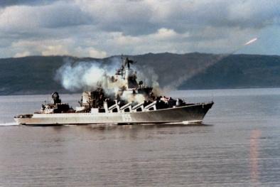 Uy lực vũ khí sở hữu 16 tên lửa 'bóng ma' đáng sợ nhất của Hải quân Nga