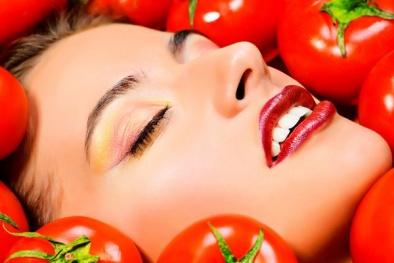 Bí quyết làm đẹp da đơn giản và hiệu quả từ cà chua