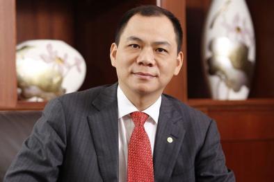 Choáng váng tỷ phú Phạm Nhật Vượng kiếm 'khủng' 1,3 tỷ USD/tháng