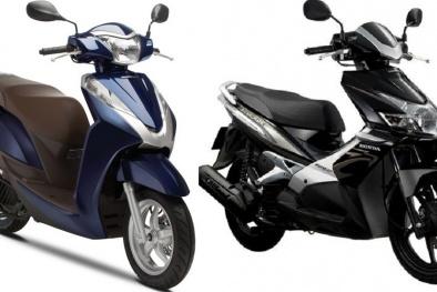 Tư vấn mua xe máy: Honda Air Blade và Honda Lead nên mua xe nào là tốt nhất?