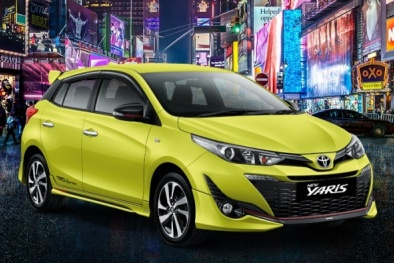 Ô tô Toyota Yaris 2018 mới 'đẹp long lanh' giá chỉ 381 triệu đồng có gì hay?
