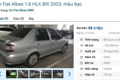 Những chiếc ô tô cũ chính hãng này đang bán giá chỉ 80 triệu đồng