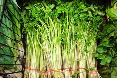 Những lưu ý khi ăn rau cần kẻo hối không kịp