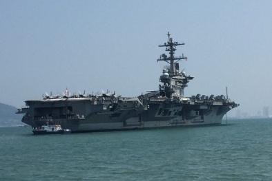 Đã mắt với hình ảnh vũ khí 'đại bàng vàng' của Mỹ sải cánh tại vùng biển Việt Nam