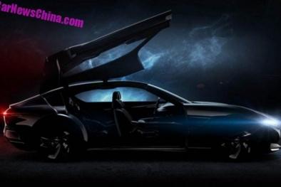 Lộ diện siêu xe thể thao mui trần 'made in China' 'đẹp long lanh'