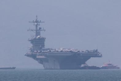 Tàu sân bay 'khủng' và hơn 6.000 thủy thủ Mỹ có mặt ở Đà Nẵng