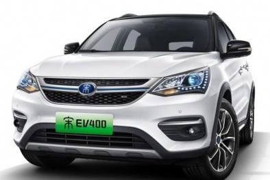 Cận cảnh chiếc SUV điện 'đẹp long lanh' 'made in China' giá 700 triệu mới trình làng