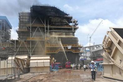 Thông tin mới nhất vụ nhà máy nhiệt điện Duyên Hải 3 bốc cháy