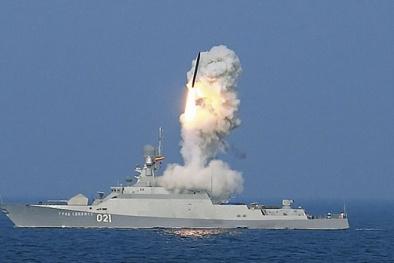 Tàu tên lửa Buyan-М 'con dao sắc nhọn' giúp Nga thắng trong mọi cuộc đối đầu
