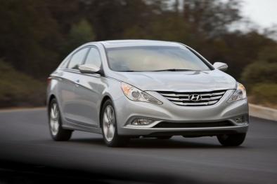 Thu hồi hơn 150.000 chiếc xe Hyundai Sonata 2011 do lỗi túi khí