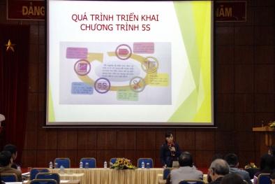 Đóng tàu Hồng Hà: Điểm sáng trong triển khai chương trình 5S