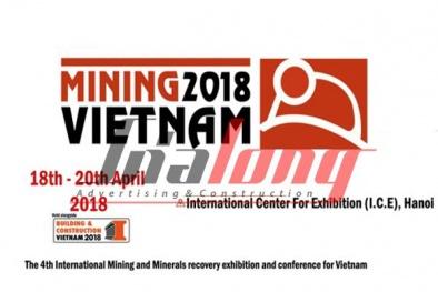 Mining Vietnam 2018: 'Mở khóa' tiềm năng phát triển công nghiệp khai khoáng