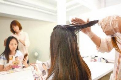 Mỗi tháng nhuộm tóc một lần cô gái bị xơ gan trầm trọng