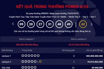 Xổ số Vietlott: Chiều nay sẽ tìm ra chủ nhân của giải thưởng 300 tỷ đồng?