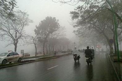 Dự báo thời tiết: Hôm nay miền Bắc có mưa, Hà Nội trời rét