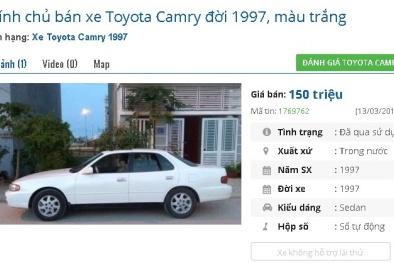 Những chiếc ô tô cũ này đang rao giá 150 triệu đồng tại Việt Nam