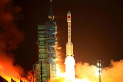 Trạm không gian Trung Quốc đang rơi xuống Trái đất có thể gây 'chết người' chỉ tính bằng ngày