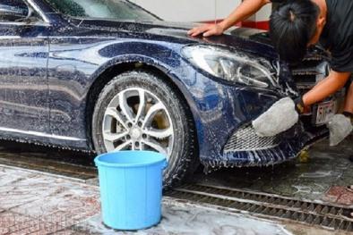 Những sai lầm khi rửa xe ô tô khiến xe 'chết' nhanh hơn