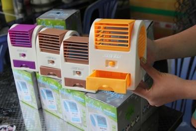 Quạt thổi đá mini được dự báo sản phẩm 'hot' nhất mùa hè 2018, người dùng có nên mua?