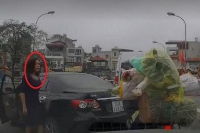 Đã xác định danh tính nữ tài xế quay đầu xe trên cầu Cót và sẽ xử lý nghiêm