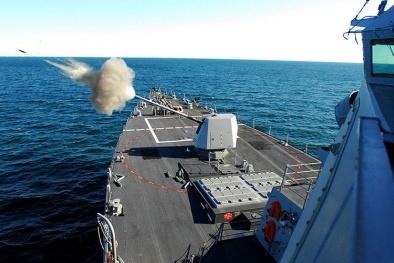 Pháo hạm MK45 Mod 2- vũ khí tự động hiện đại nhất thế giới của Mỹ