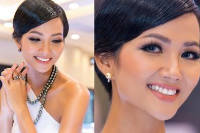 'Giật mình trước nhan sắc khác lạ của Hoa hậu H'Hen Niê