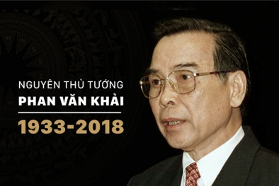 Treo cờ rủ hai ngày Quốc tang nguyên Thủ tướng Phan Văn Khải