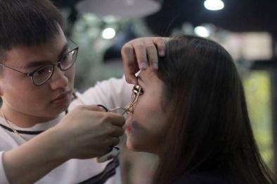 Trang điểm lông mi dài và cong sẽ là điểm nhấn năm 2018?