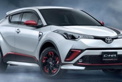 Toyota C-HR 680 triệu đồng ở Thái Lan được bổ sung thêm nhiều phụ kiện