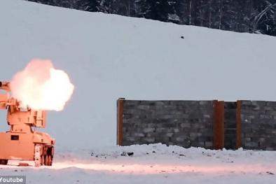 Vũ khí Nga 'hét ra lửa' thiêu cháy mục tiêu chớp nhoáng