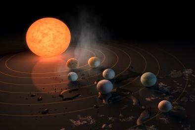 7 hành tinh trong hệ sao TRAPPIST-1 khó tồn tại sự sống như NASA nghĩ