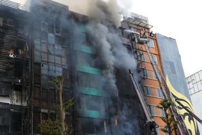 Mở lại phiên tòa xét xử vụ cháy quán Karaoke khiến 13 người chết tại Hà Nội