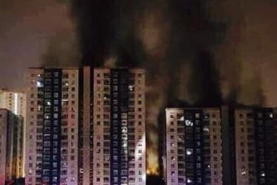 Vụ cháy chung cư Carina Plaza: Hơn 400 cư dân ký tên kiến nghị lên Thủ tướng