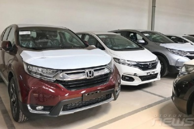 Lô xe ô tô Honda thuế 0% giá rẻ hơn 200 triệu đồng đã về đại lý, chuẩn bị giao xe cho khách