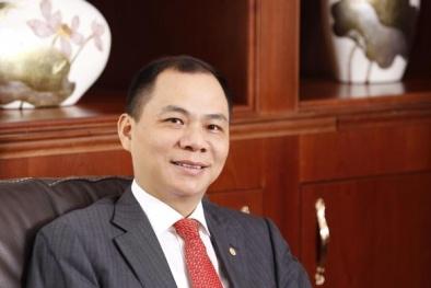 Tài sản của ông Phạm Nhật Vượng chạm mốc 6,1 tỷ USD, lot top 300 người giàu thế giới