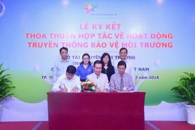FrieslandCampina Việt Nam ký kết hợp tác về bảo vệ môi trường