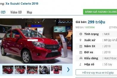 Ô tô Suzuki giá rẻ thuế 0% sắp về Việt Nam, đại lý báo giá 299 triệu đồng