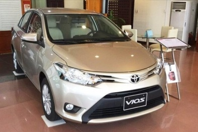 Bảng giá ô tô Toyota mới nhất tháng 4/2018