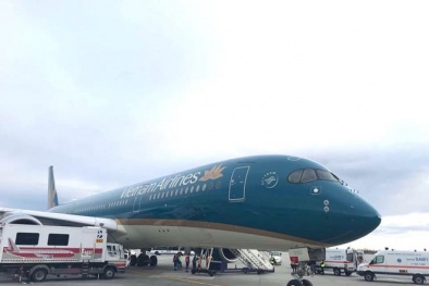 Máy bay của Vietnam Airlines buộc phải hạ cánh khẩn cấp xuống Romania
