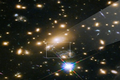 Phát hiện ngôi sao nóng gấp đôi mặt trời nằm cách trái đất 9 tỷ năm ánh sáng
