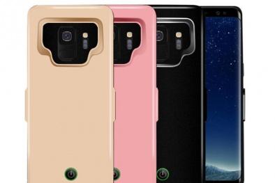 4 sản phẩm pin sạc dự phòng ốp lưng tuyệt đẹp cho Samsung Galaxy S9 và S9 +