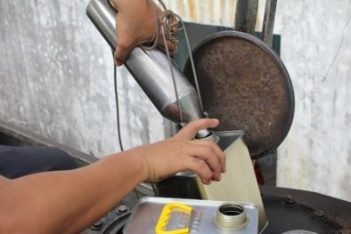 Trà Vinh: Kiểm tra 34 cột đo, lấy 8 mẫu xăng dầu thử nghiệm chất lượng