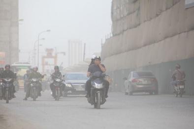 Hà Nội: Chất lượng không khí bị ảnh hưởng bởi nồng độ bụi cao
