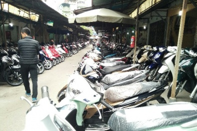 Chợ xe máy Dịch Vọng: Phòng chống cháy nổ còn nhiều bất cập?
